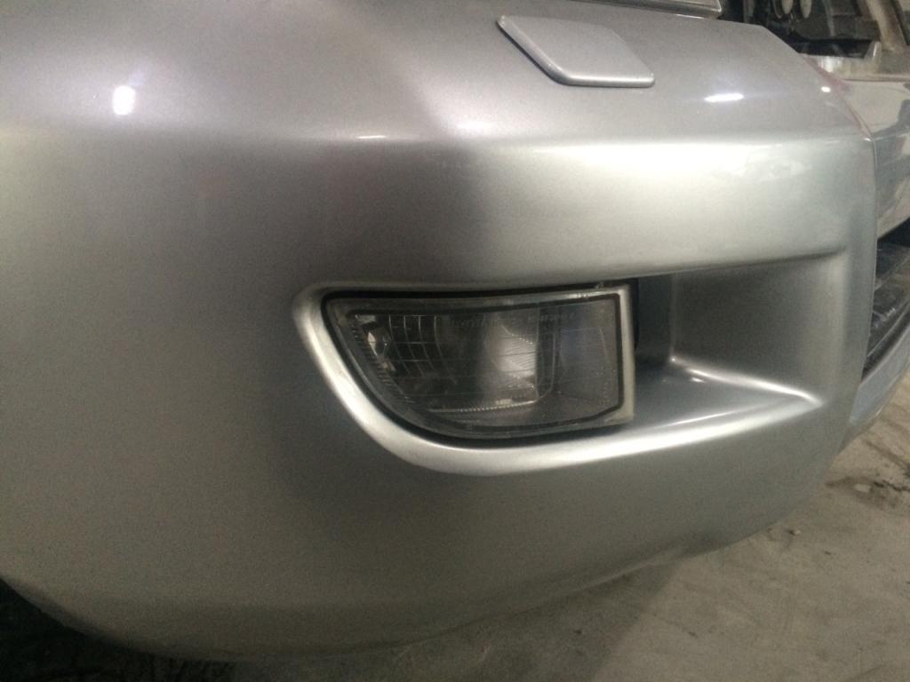 Кузовной ремонт бампера, после ремонта