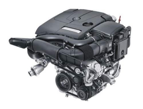 Двигатель Mercedes M274